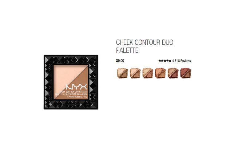 Contour就是專門設計來「製造陰影」使用的,因此真正的修容粉的顏色一定會帶有...