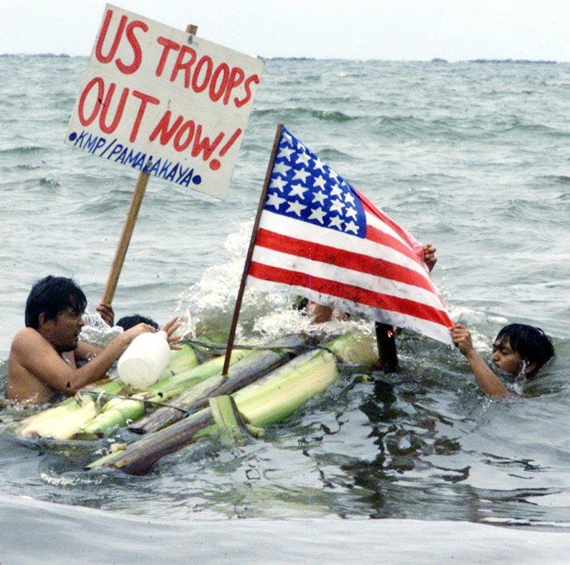 菲律賓反美聲浪:內政考量讓杜特蒂似乎傾向於採取與美國保持相當距離的對外政策。 圖...