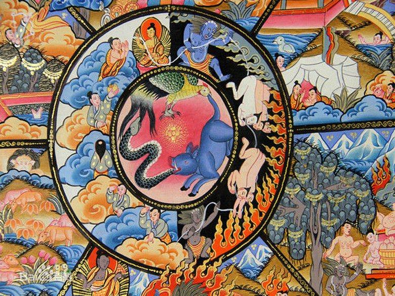 從佛教來講,眾生陷於六道輪迴,不斷的冤冤相報互相折磨,避免這種痛苦唯有脫離輪迴,其中必須撇除情慾,對同性戀採取不推薦也不反對的態度。 圖/取自百度百科