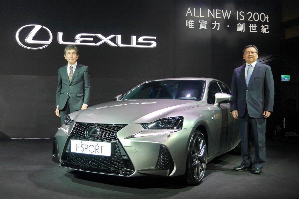 LEXUS總代理和泰汽車持續在第一時間引進LEXUS最新車款及科技。 記者陳威任/攝影