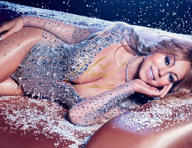 M.A.C與瑪麗亞凱莉二度攜手,推出限量聯名彩妝系列。圖/M.A.C提供
