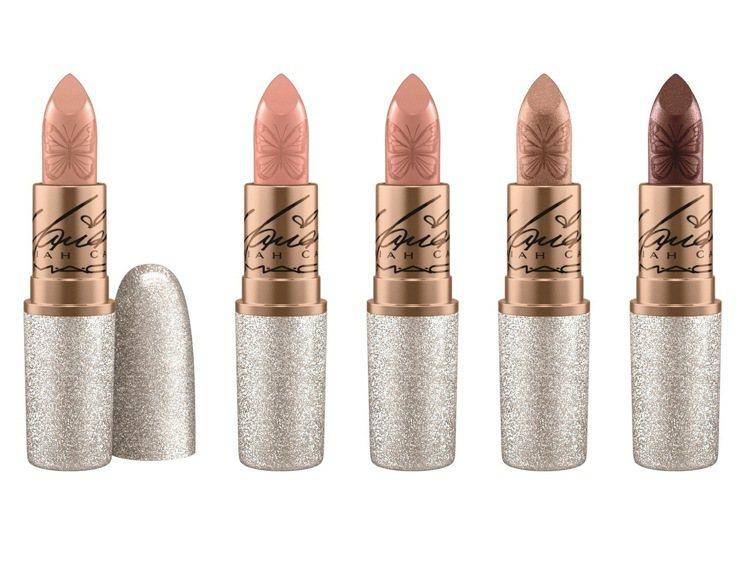 M.A.C X 瑪麗亞凱莉時尚專業唇膏,售價800元,共5色。圖/M.A.C提供