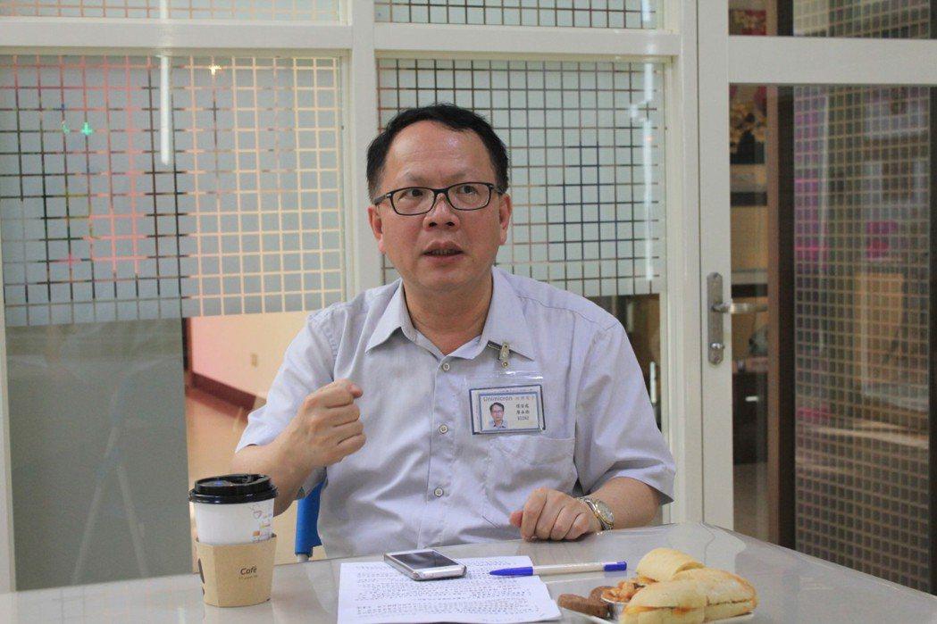 植物科技事業處暨建廠部/環安部總經理廖本衛 圖/欣興電子提供