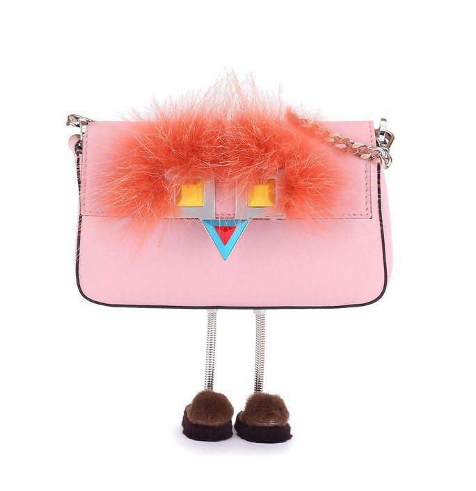 Hypnoteyes_Micro Baguette,鍊袋包63,000元。圖/F...