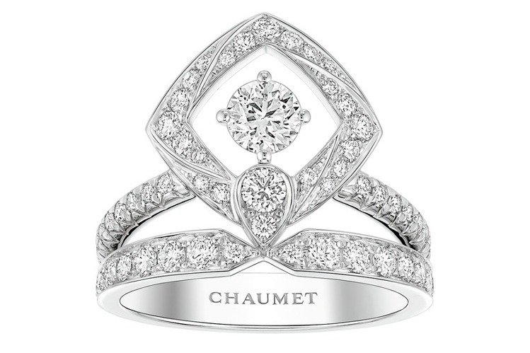 Josephine Eclat Floral繁花輝映戒指,40萬8,000元。圖...