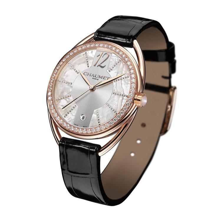 Liens Lumiere腕表,71萬9,000元。圖╱CHAUMET提供