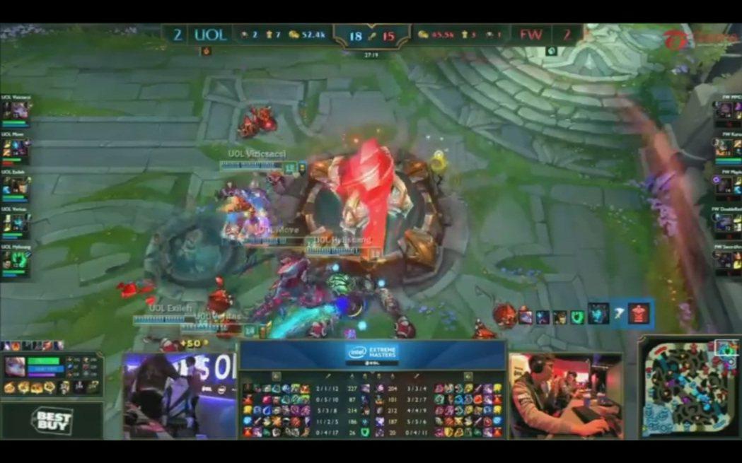 閃電狼與UoL一路激戰到最終決勝局。
