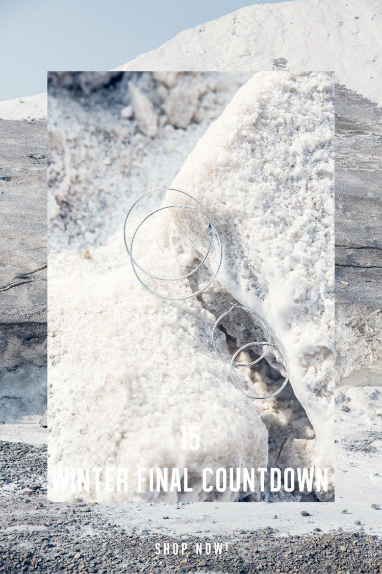 大、中、小款圈圈形耳環在今年秋季又重新熱燒。圖/摘自xoxostyle官網