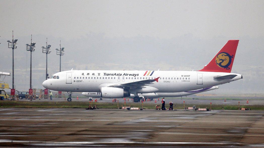 復興航空宣布解散公司。 記者劉學聖/攝影