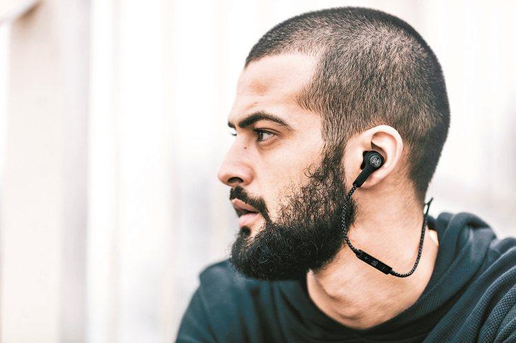 藍牙無線入耳式耳機Beoplay H5,使用者可以選擇預設的聲音情境。 圖/B&...