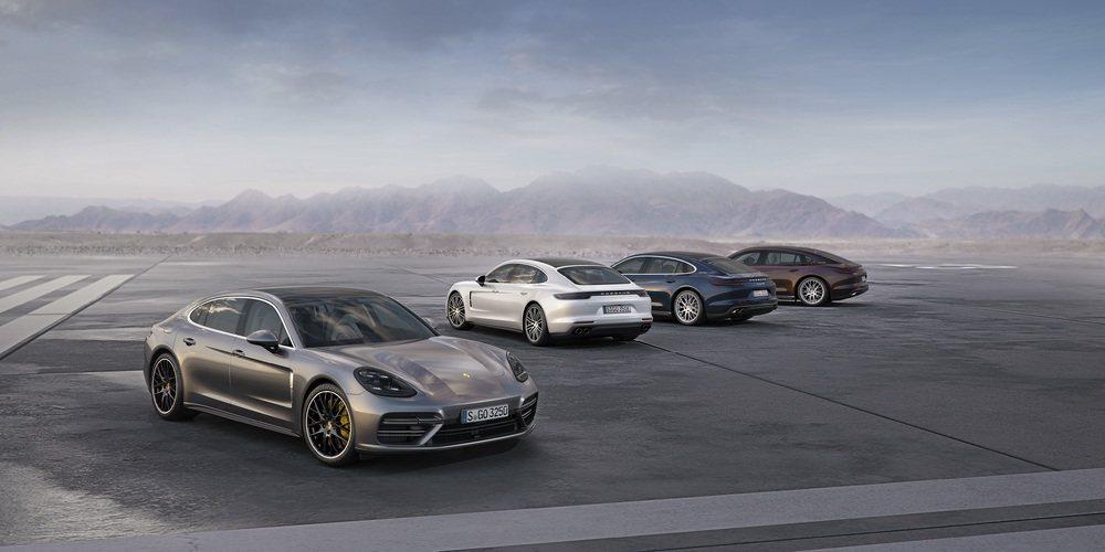 Panamera Executive 車型首度全球公開亮相。 Porsche提供