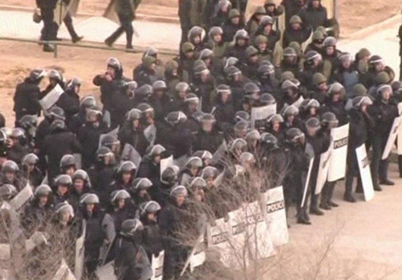 札納奧津暴動現場:警民衝突最終造成11人死亡。 圖/路透社