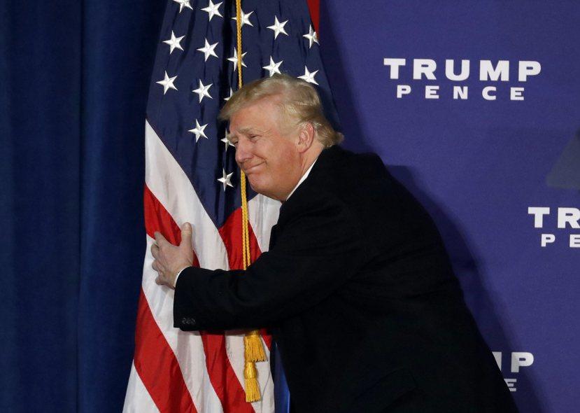 別為川普擔憂,或者是別為美國擔心。 圖/美聯社