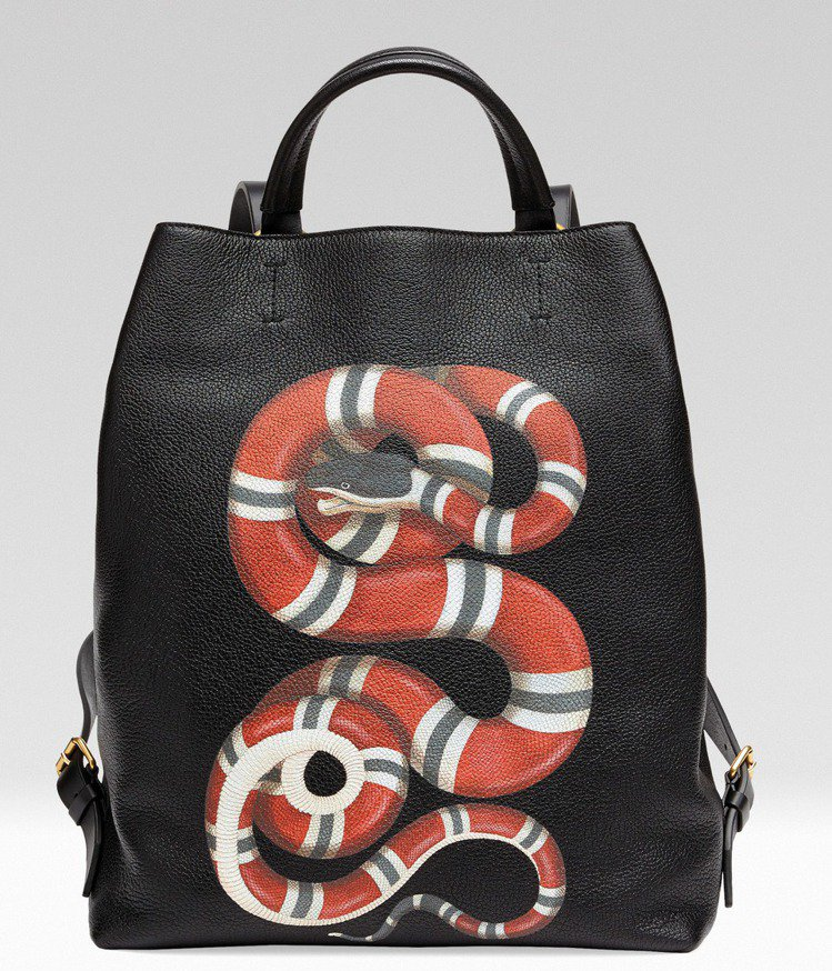 珊瑚蛇後背包,84,100元。圖/Gucci提供