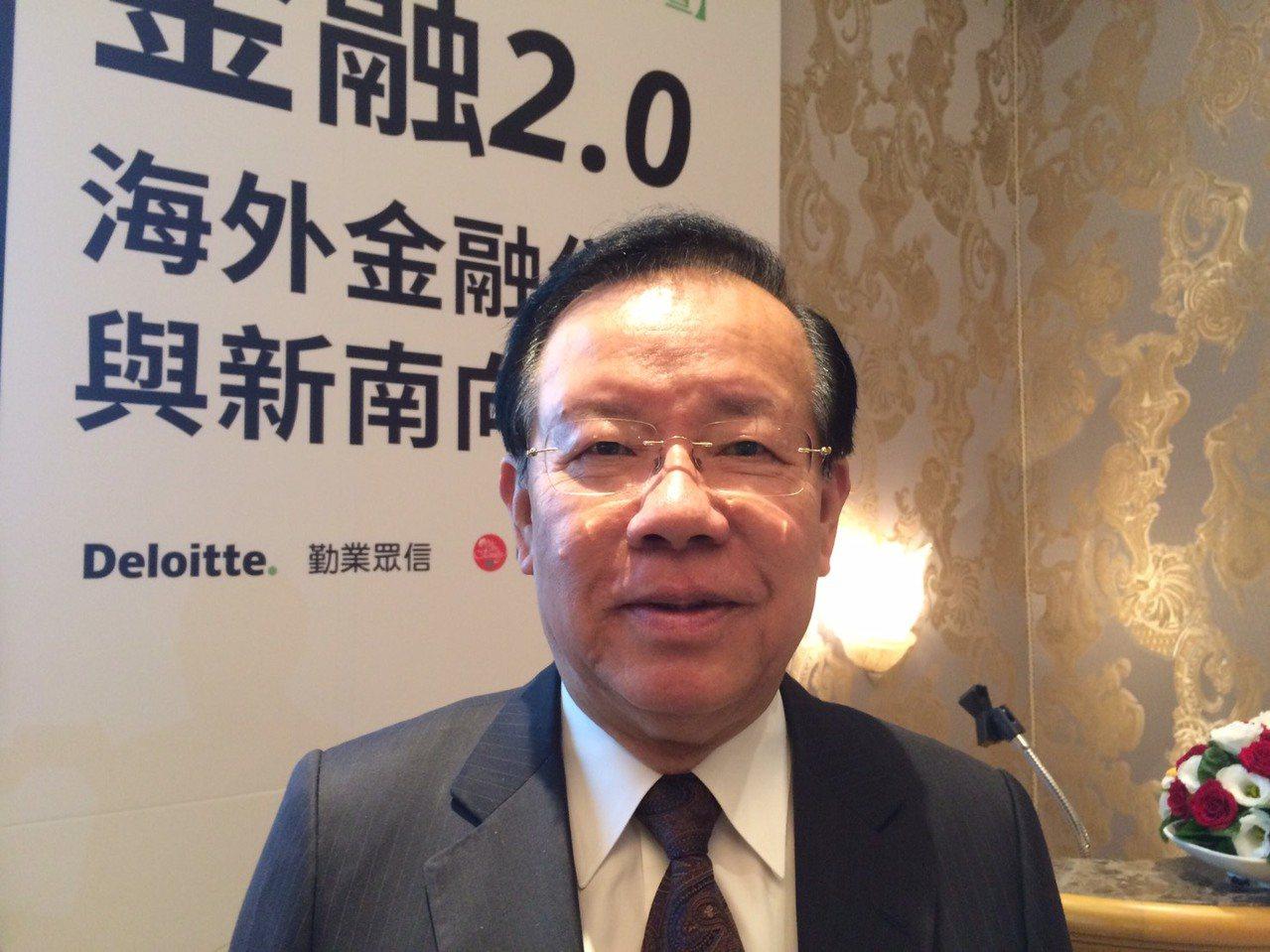 前財政部長顏慶章。 聯合報系資料照片/記者陳怡慈攝影