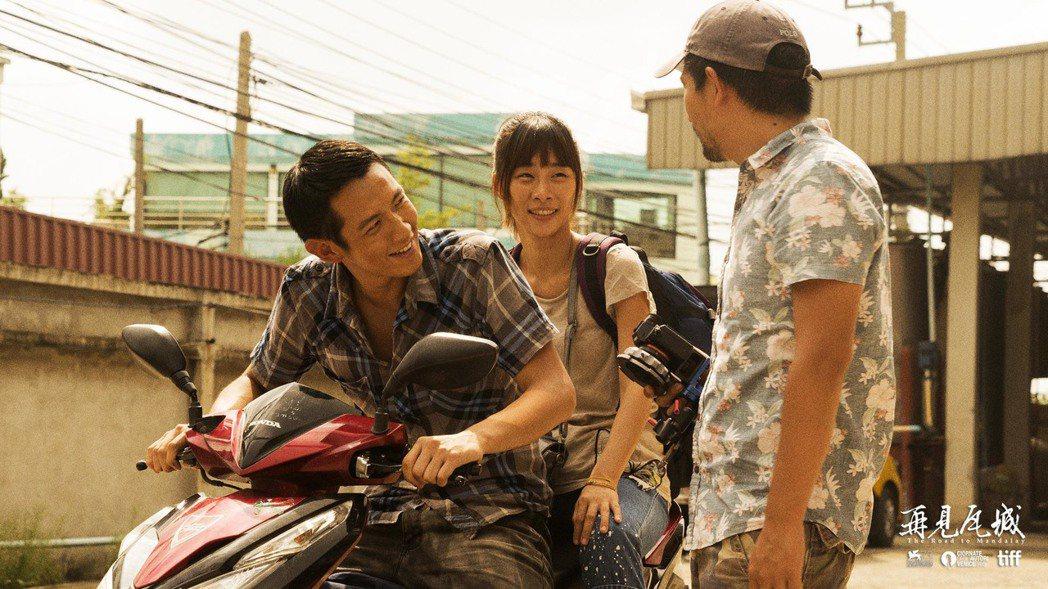柯震東(左)、吳可熙(中)以《再見瓦城》入圍今年金馬獎最佳男、女主角。圖/岸上影...