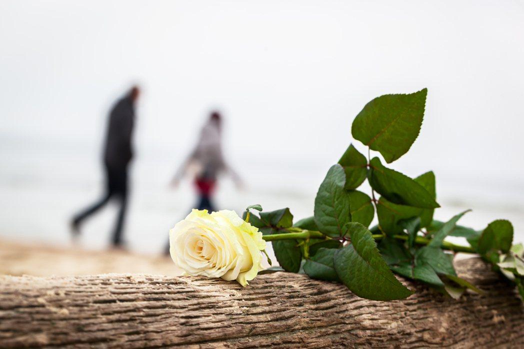每每目送著她回家的那一刻,心中隱隱的痛,萬針刺心的感覺是局外人所無法理解的。 圖...
