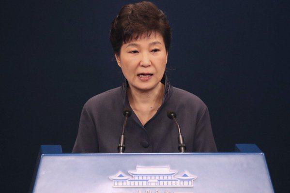 朴槿惠發表演說 願由國會決定她的去留