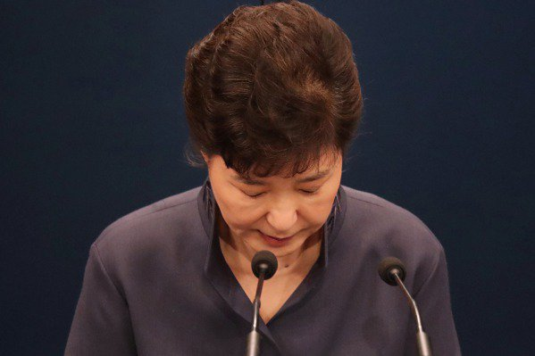 南韓在野陣營 同意本周五表決朴槿惠的彈劾動議