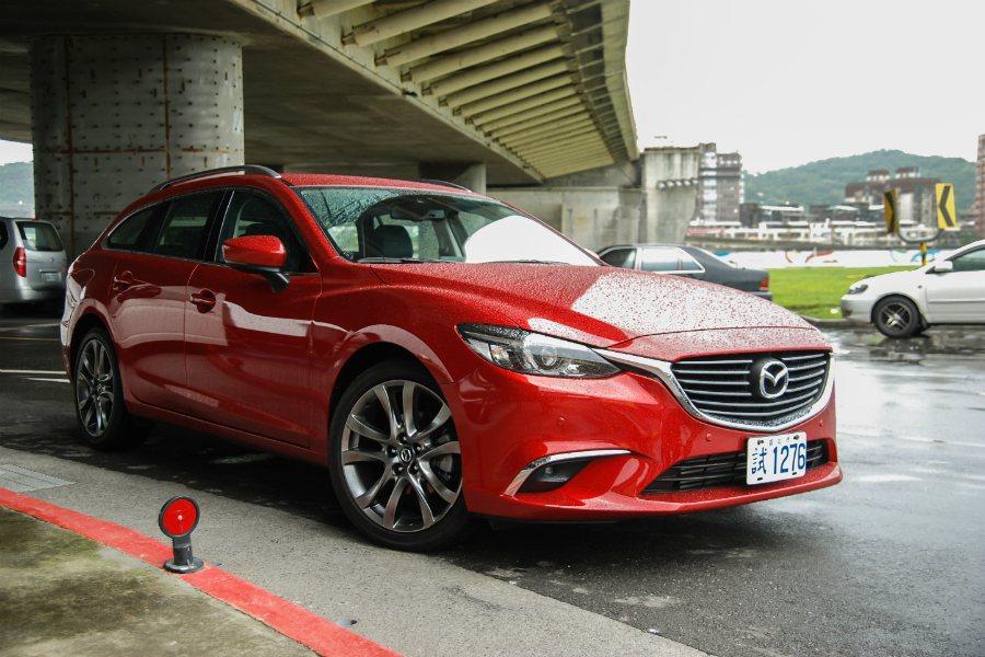 此次試駕的主角為車迷引頸期盼的 Mazda6 Wagon。 記者林鼎智/攝影