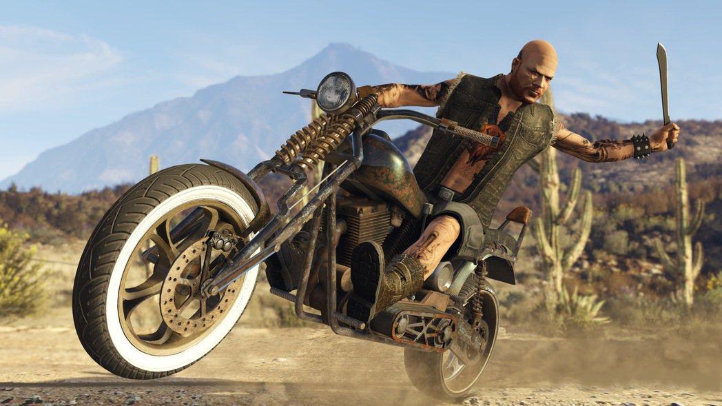 《俠盜獵車手》系列是知名的開放世界動作遊戲代表作。