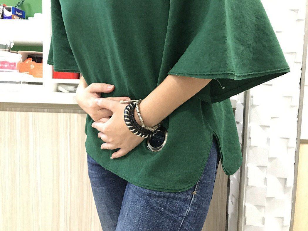 安南醫院小兒科主任陳震南表示,女生也可能發生疝氣,只是比例較少,圖為示意圖。圖/...