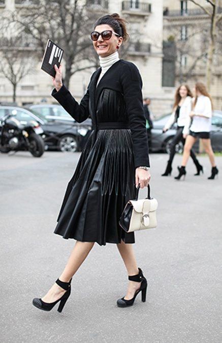 義大利版「LUOMO Vogue」時尚編輯兼街拍達人Giovanna Batta...