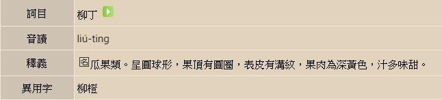 圖片來源/ 教育部臺灣閩南語常用詞辭典