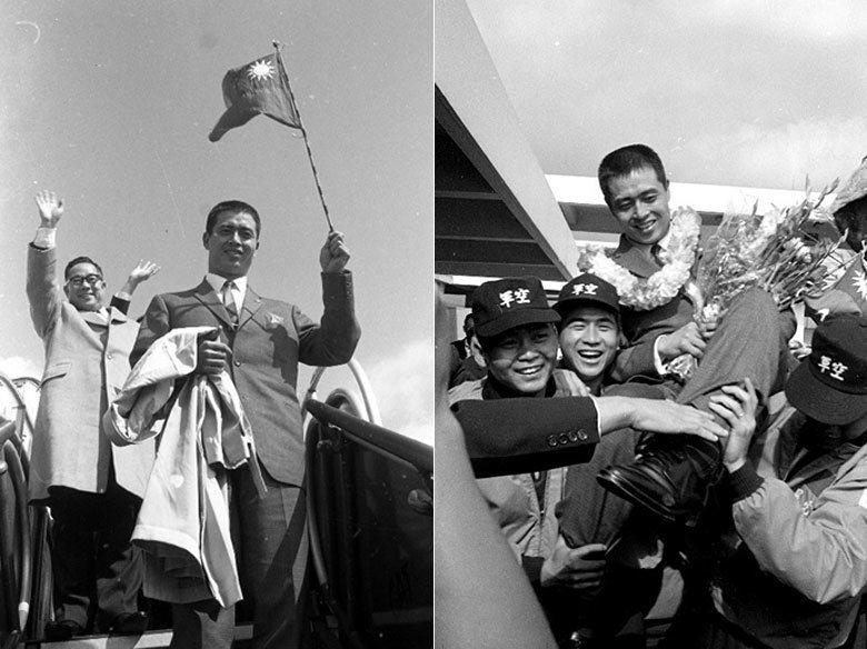 王貞治抵達機場後,受到盛大歡迎。 圖/聯合報系資料照片