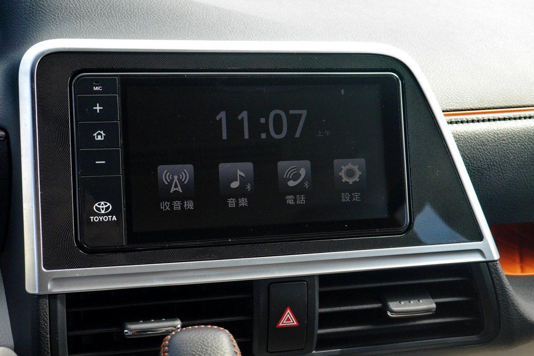 全車系也搭載Drive+隨行駕駛系統。 記者陳威任/攝影