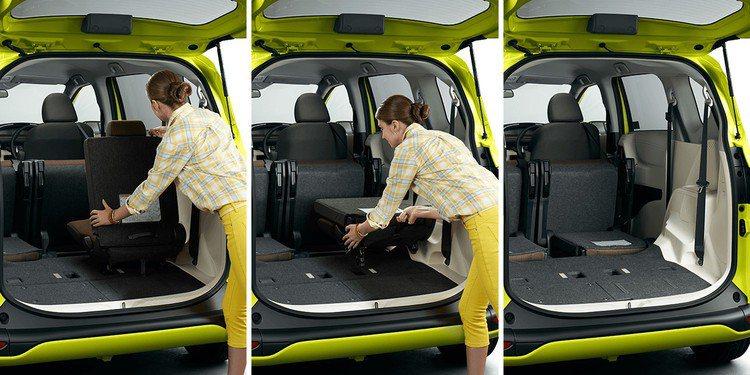第三排座椅收折輕鬆便利。 圖/TOYOTA提供