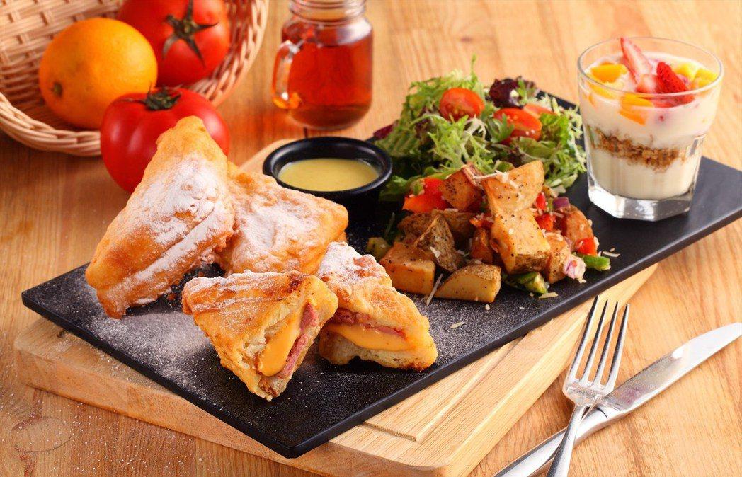 ▲法式鄉村鑲料吐司(Stuffed French Toast)