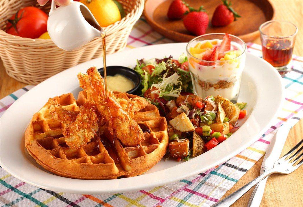 ▲紐奧良雞肉鬆餅(Chicken & Waffles)