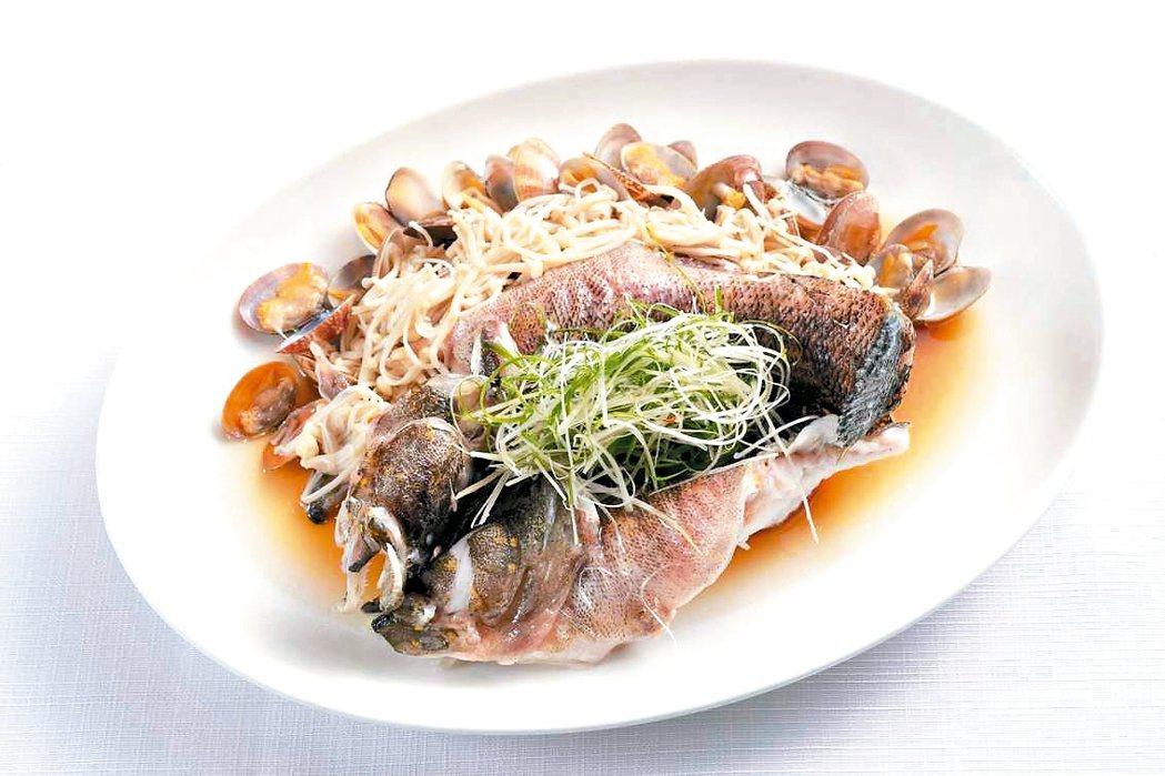 清蒸筍殼魚