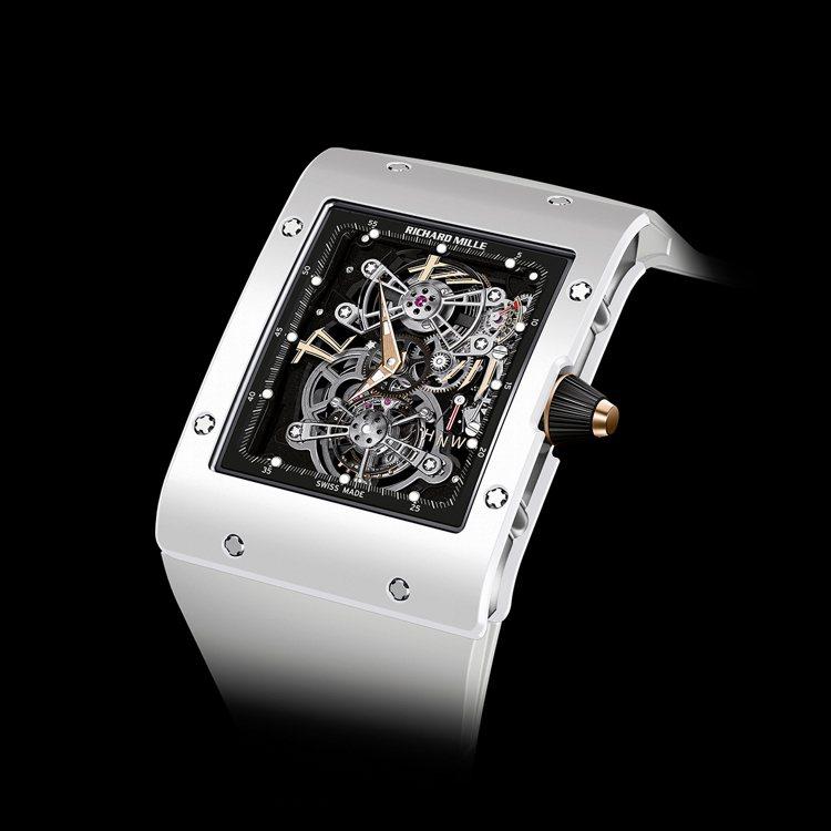 Richard Mille RM 017亞洲版白陶瓷超薄陀飛輪腕表,約1,300...