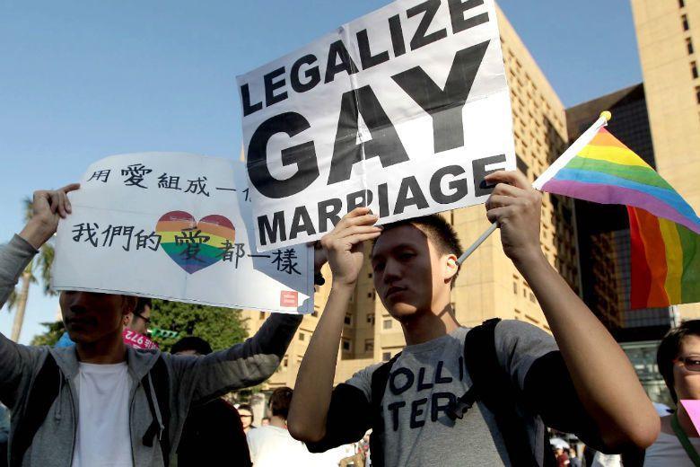 民進黨及反對方用「特別法與普通法」說明同婚專法與民法是欺騙大眾的說詞。 圖/路透...