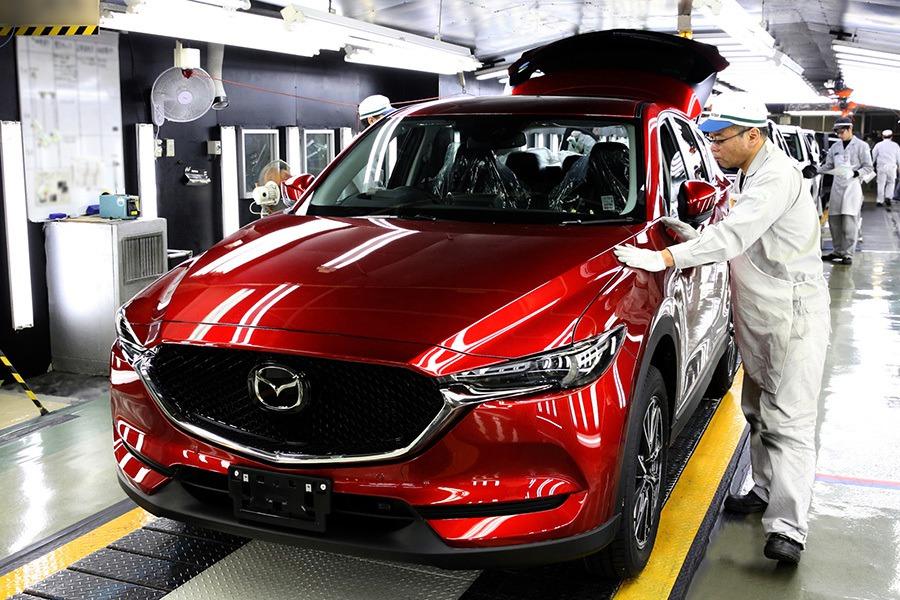 Mazda正式開始量產新CX-5跨界休旅!