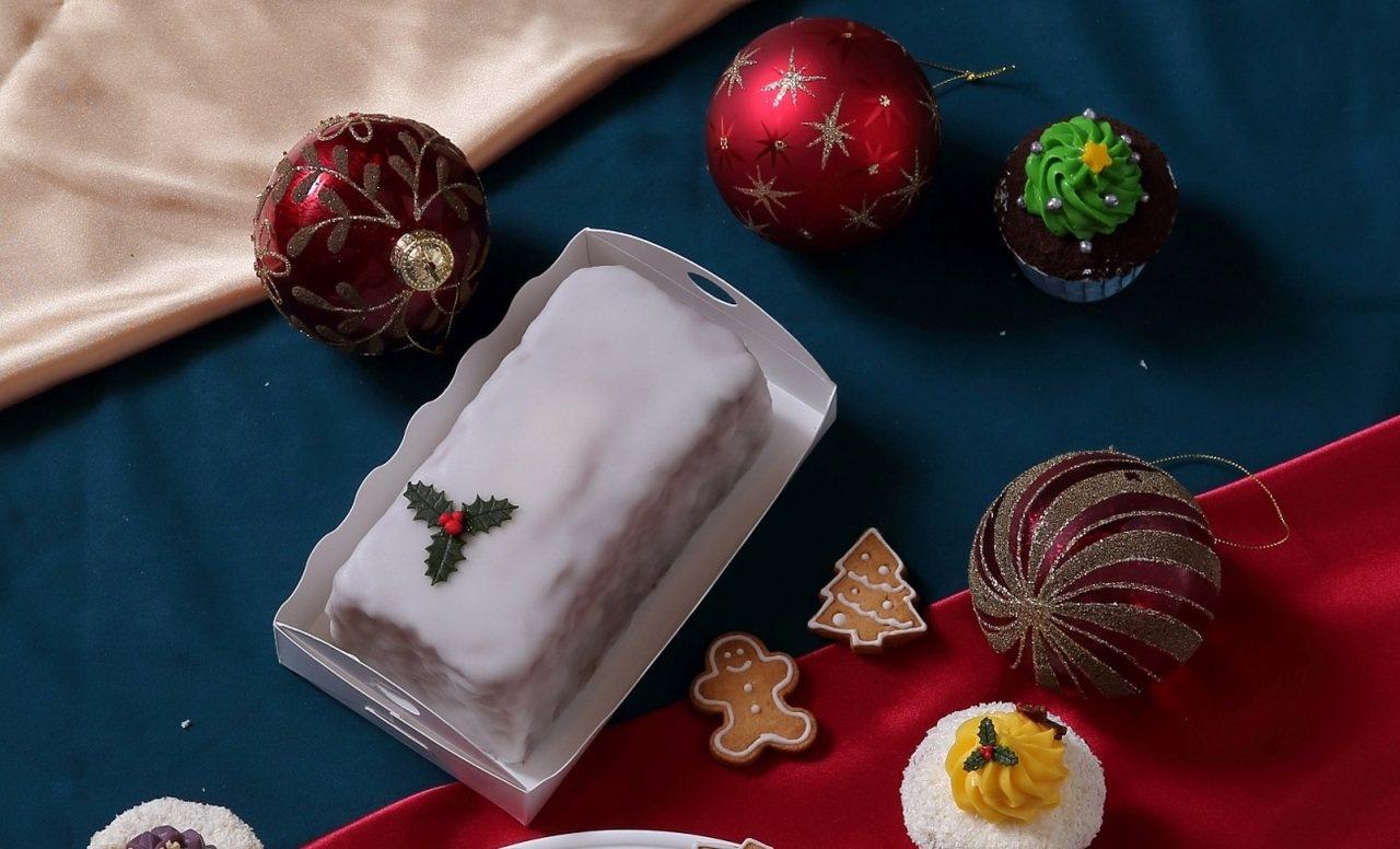 麗緻坊-黑森林樹幹蛋糕,799元/6吋。圖/麗緻餐飲集團提供