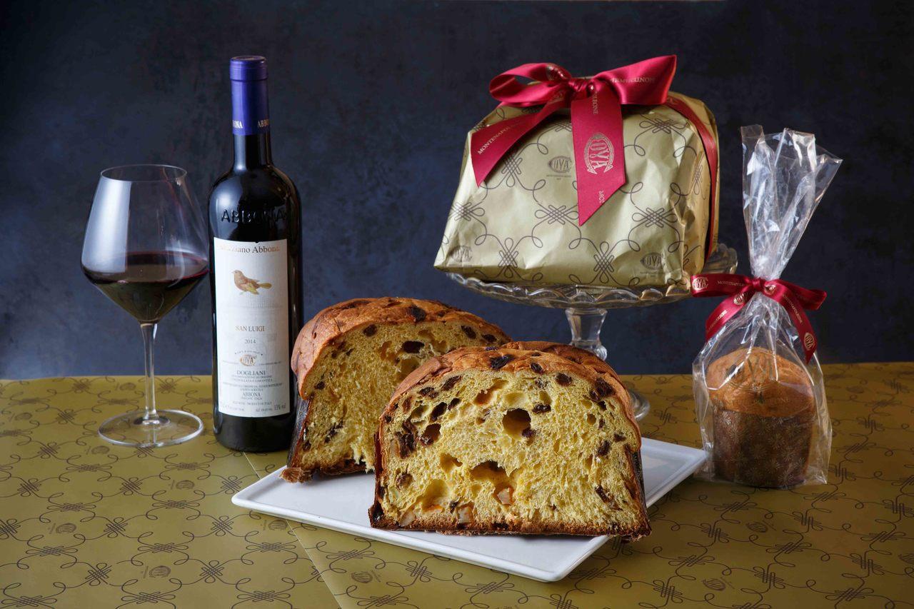 COVA直接從義大利空運道地Panettone麵包,650元/100g、1500...