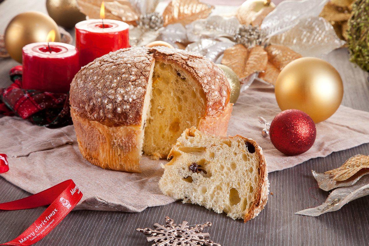 長榮凰凰酒店(礁溪)今年也推出Panettone麵包。圖/長榮鳳凰礁溪提供