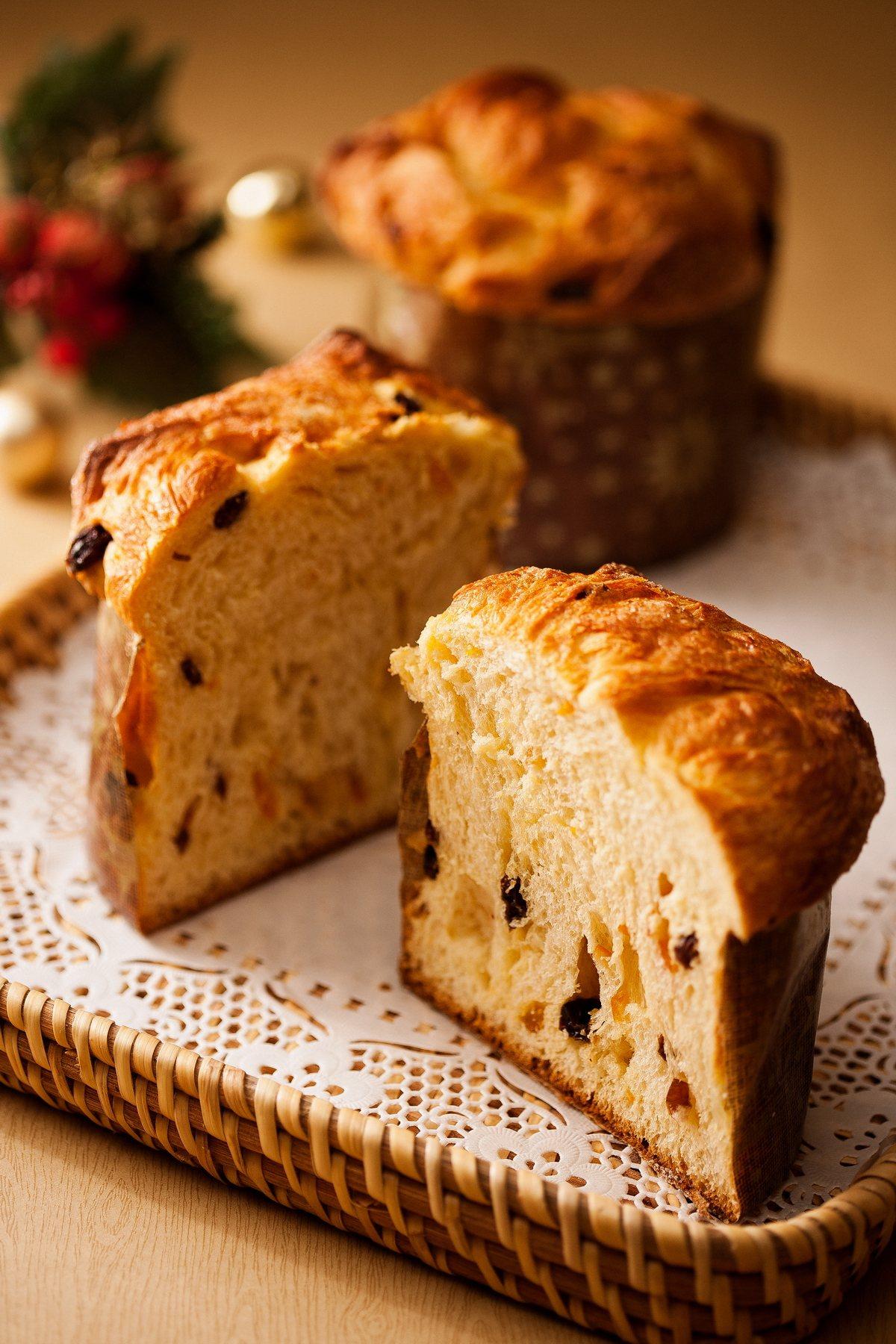 台北國賓飯店Le bouquet繽紛蛋糕坊則因應熟客指定,連續多年將Panett...