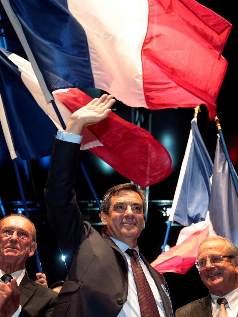 費雍作為法國共和國黨內的保守勢力,不斷釋出將與溫和的右派路線徹底斷裂的訊息,在明...