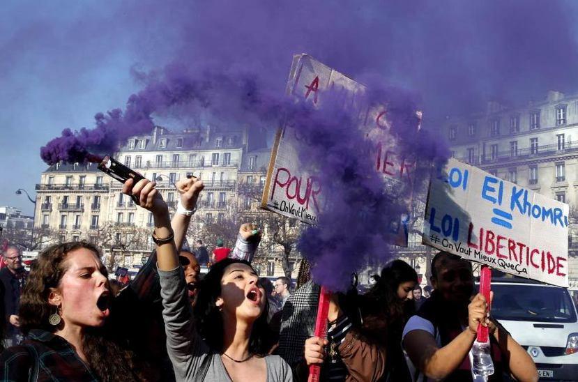 「35小時工時」勞動案,在今年法國引發大地震,由工會領頭發起多起百萬人大罷工。 ...