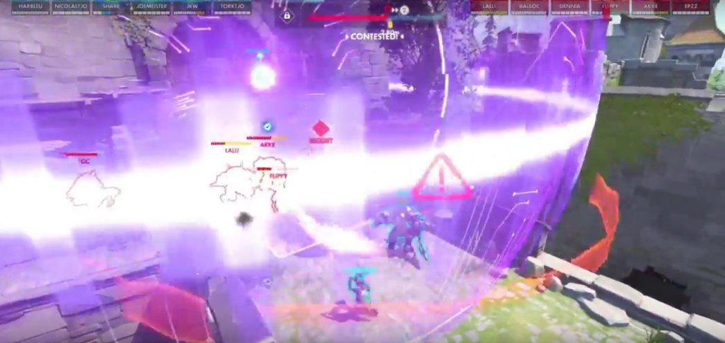 這次DreamHack賽事中,不只一支隊伍在進攻方採用駭影作為戰術核心。圖為co...