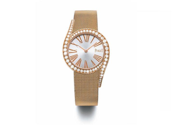 伯爵Limelight Gala腕表,124萬元。 圖/各業者提供