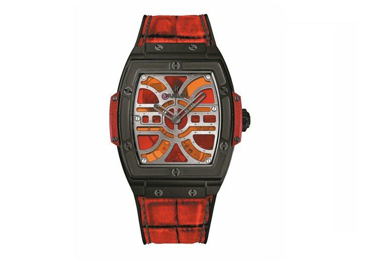 宇舶炫彩鑲嵌玻璃腕表,94萬5,000元。 圖/各業者提供