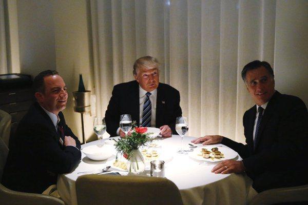 收編羅姆尼 川普正式接收共和黨