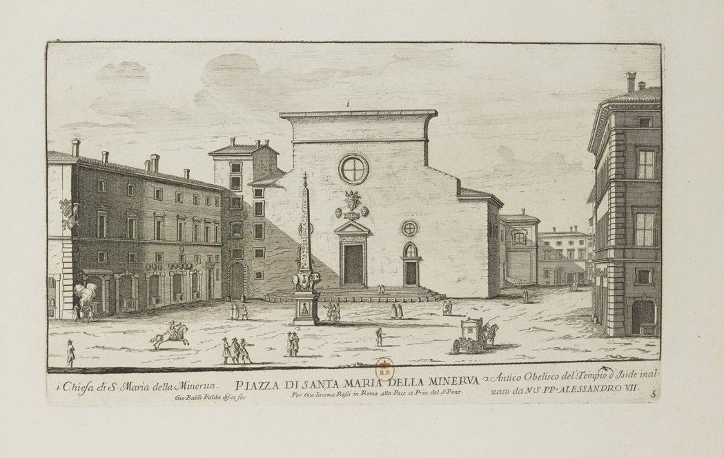 法達的版畫捕捉「城市亦劇場」的概念。他描繪密涅瓦聖母堂前廣場的作品中,任何物件都...
