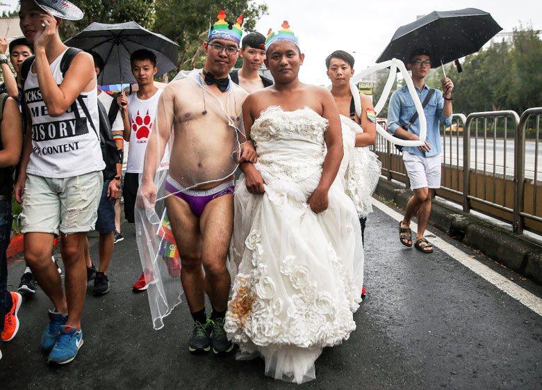有壓迫才有解放,同性婚姻就是性...