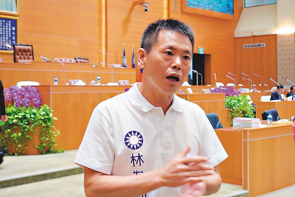 國民黨立委林為洲提出「就業服務法修正草案」,被網友推爆。記者莊旻靜/攝影